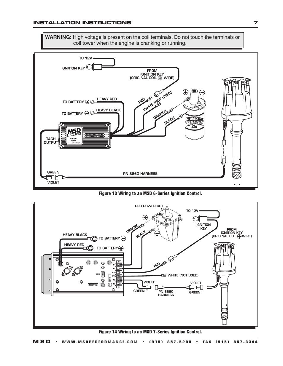 msd 85551 chevy v8 pro billet distributor installation page7?w=1000 msd pro billet ignition wiring diagram