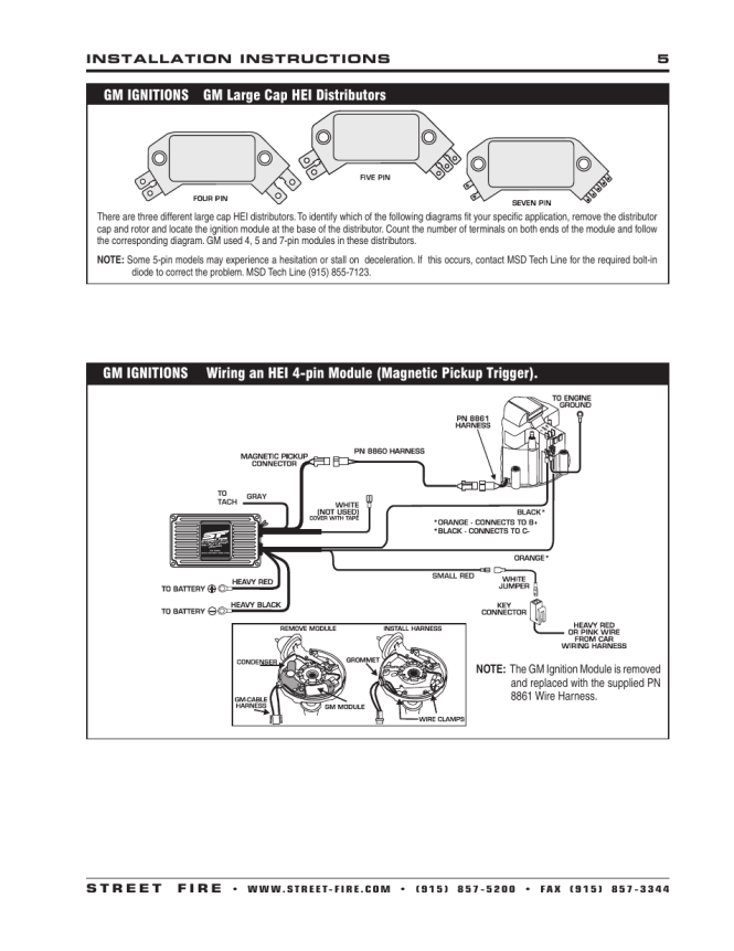 msd wiring diagram hei wiring diagram msd street fire hei wiring diagram and schematic