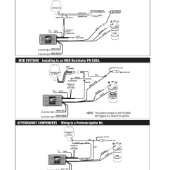 Msd Distributor Wiring Diagram Of The Tooth Numbering System 5520 Street Fire Ignition Control Installation User Manual | Page 8 / 12