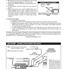 Msd 6aln Wiring Diagram Xtrons Pf81mtv 6430 Ignition Control Installation User Manual | Page 10 / 24 Also For: 6462 6-btm ...