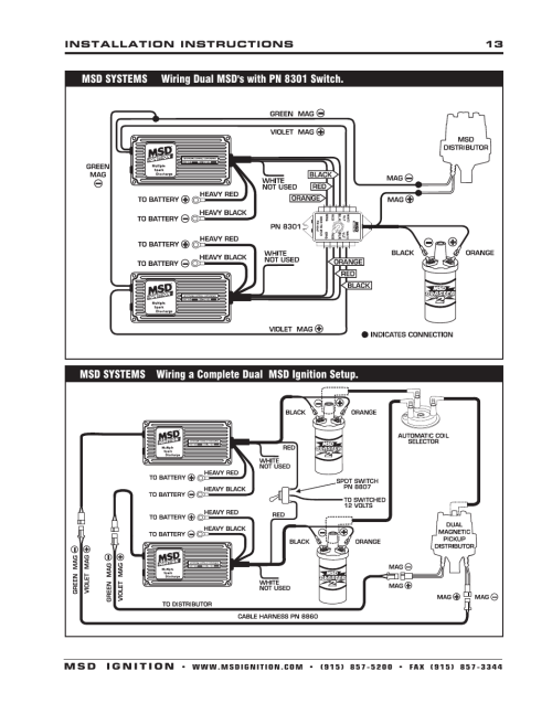 small resolution of msd 6400 wiring diagram hei msd 6t wiring wiring diagram msd ignition wiring msd 6aln wiring harness