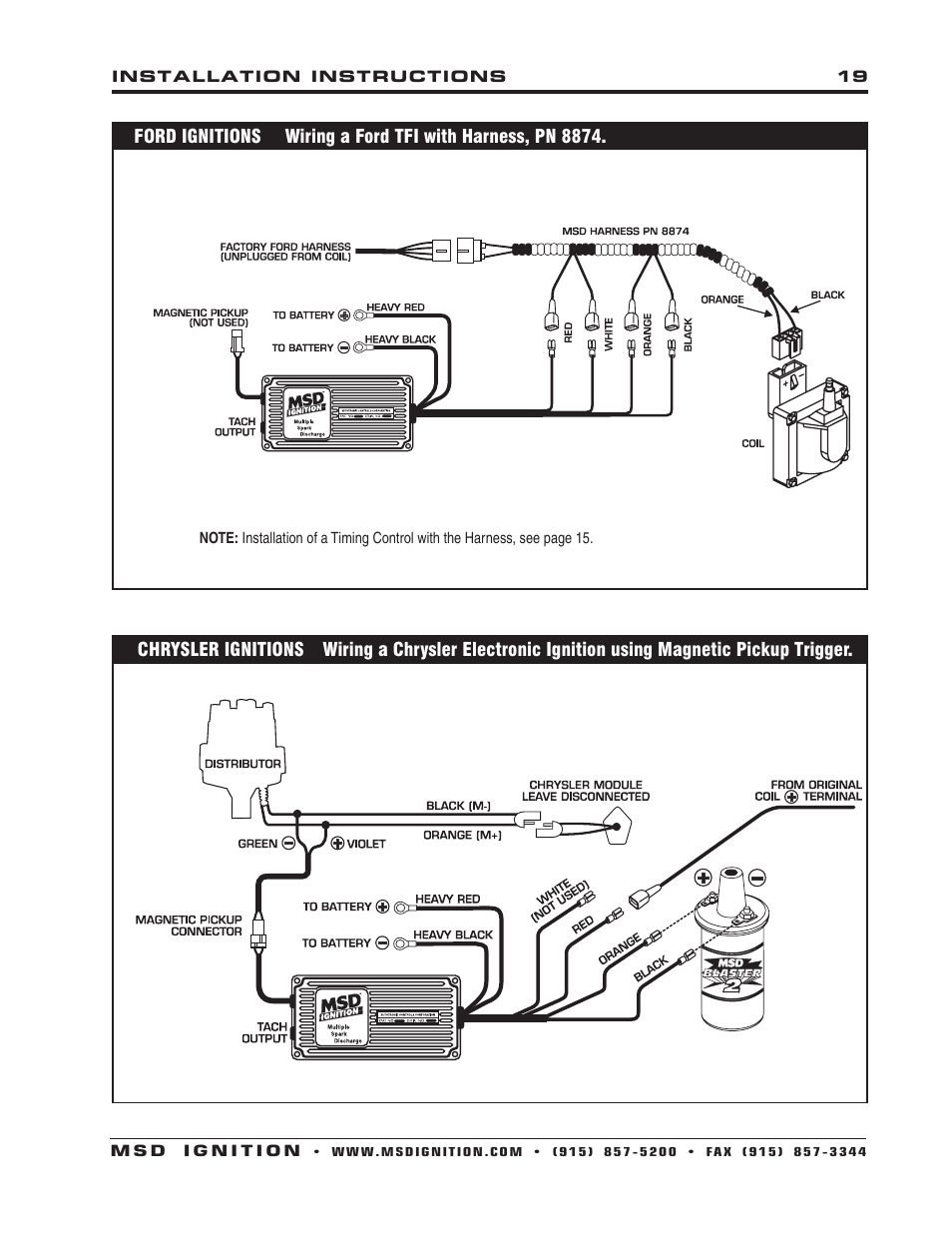 Msd Cdi Wiring Diagram