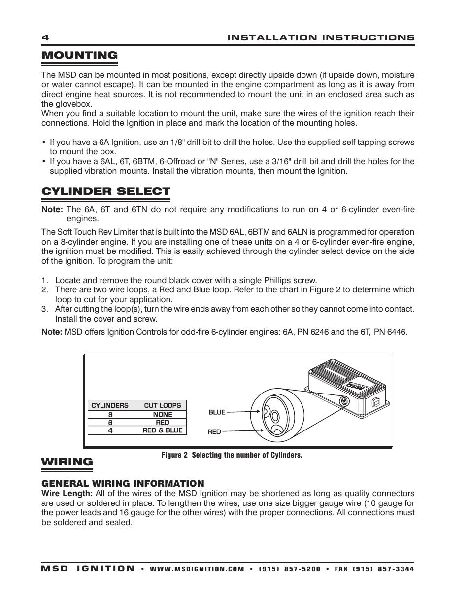 msd btm install porsche 911 parts diagram 6430 6aln ignition control installation user manual page 4 24