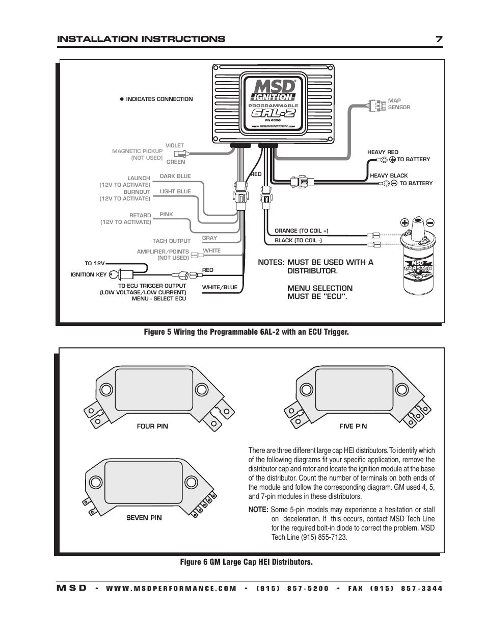 Msd 6al Box Wiring Diagram | Wiring Diagram Msd Al To Hei Pin Wiring Diagram on msd 6al box wiring diagram, msd 6al 2 wiring diagram, msd 6al tach wiring diagram, distributor hei wiring diagram,