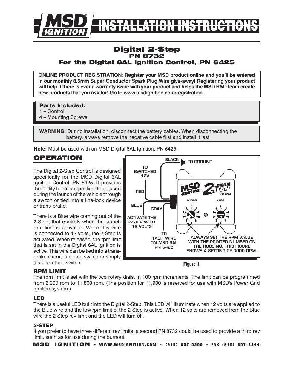 msd pn 6425 wiring diagram Msd Pn 6425 Wiring Diagram msd 6425 6al digital wiring diagram msd pn 6425 wiring diagram