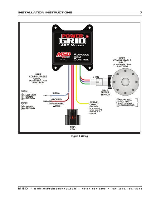 small resolution of msd ignition call flow diagram msd distributor msd 7al 3 wiring msd