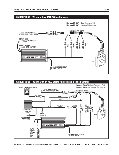 small resolution of msd 6520 digital 6 plus ignition control installation user manual page 15 24