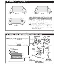 gm ignitions gm large cap hei distributors 16 installation lan wiring diagram digital 6 wiring diagram with hei [ 954 x 1235 Pixel ]