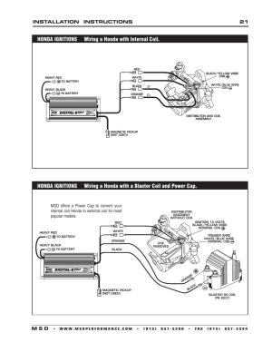 Installation instructions 21 m s d | MSD 6520 Digital 6