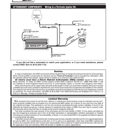 limited warranty service msd 6520 digital 6 plus ignition control installation user manual page 24 24 [ 954 x 1235 Pixel ]