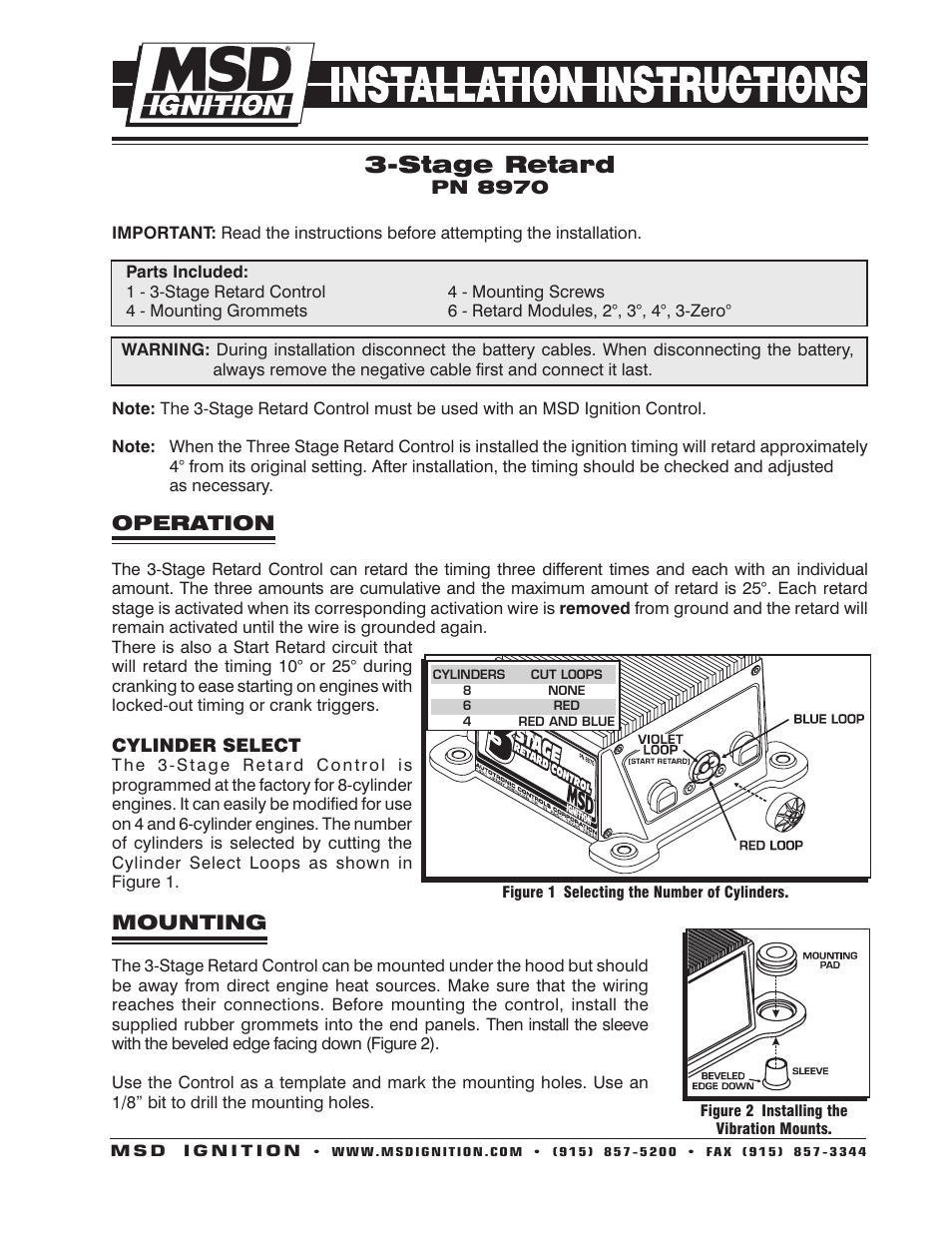 medium resolution of wiring diagram msd start retard