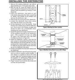 installing the distributor msd 83506 ford 351 460 ready to run msd 6al wiring diagram for tach 83606 msd wiring diagram [ 954 x 1235 Pixel ]
