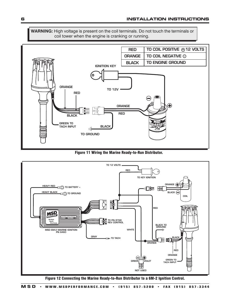 msd ready to run wiring diagram wiring diagram  ford 460 msd 7al wiring diagram #4