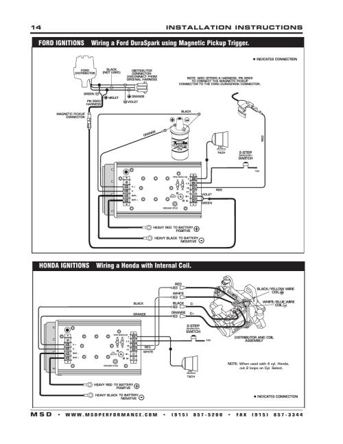 small resolution of sch u00f6n msd 7al 2 schaltplan ideen der schaltplan ford 460 distributor diagram msd ignition wiring diagram