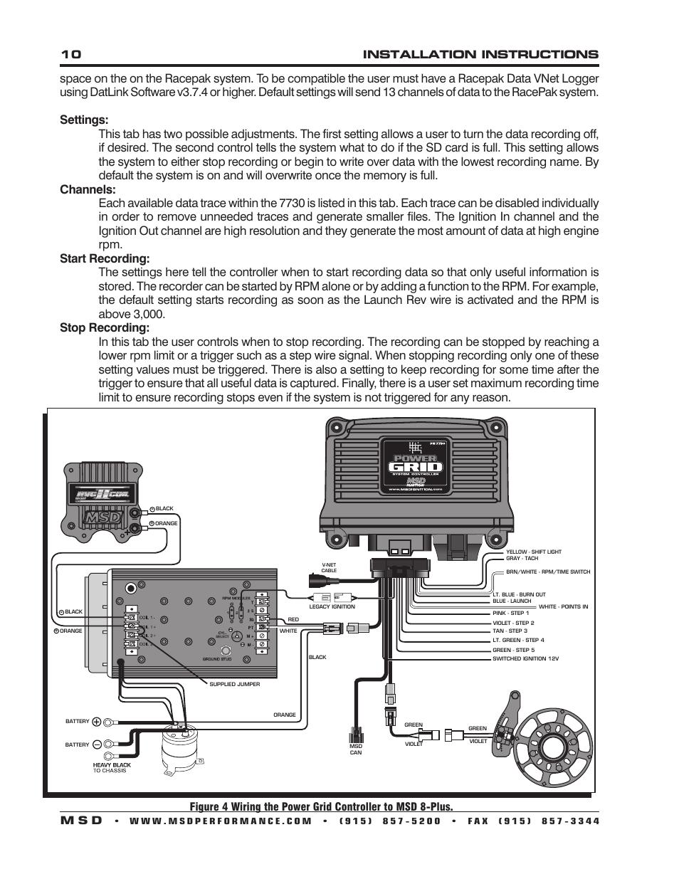 medium resolution of msd power grid wiring diagram wiring diagram view msd ignition power grid diagram