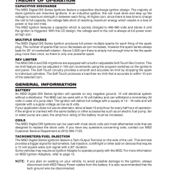 msd 62152 dis 4 plus distributorless 4 channel installation user manual page 2 16 [ 954 x 1235 Pixel ]