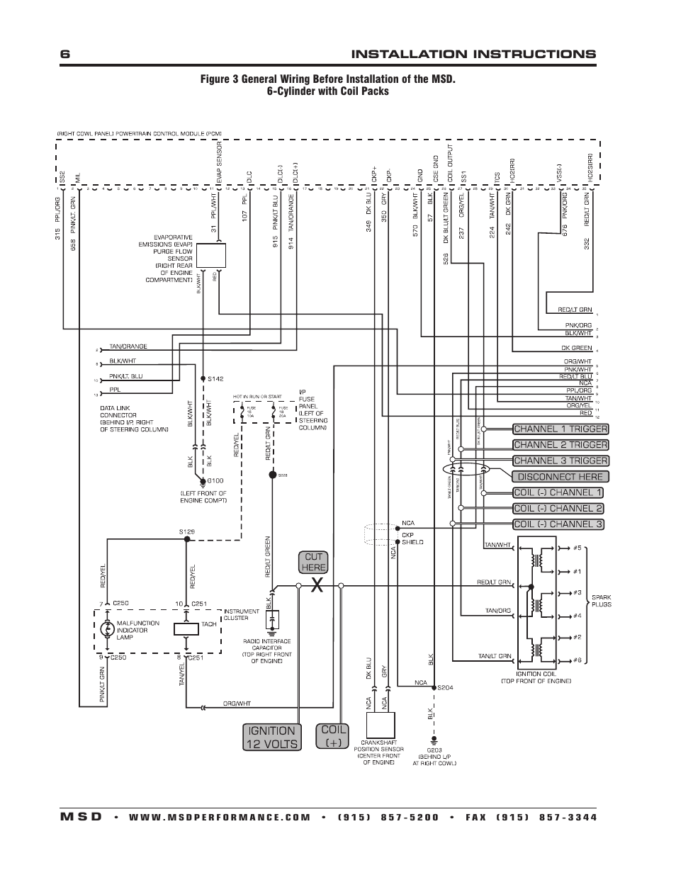 Msd Digital Dis 4 Wiring Diagram : 32 Wiring Diagram