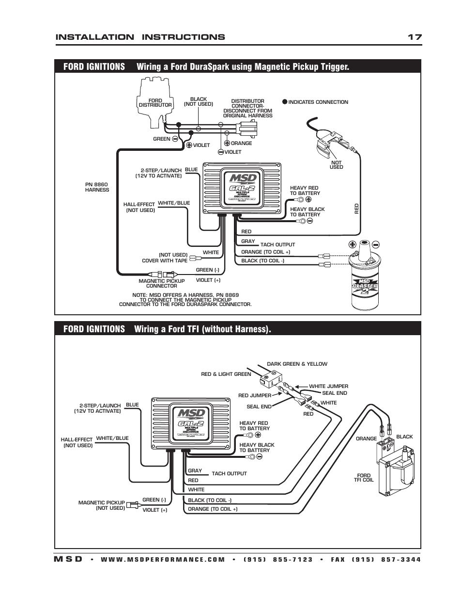 msd 6421 wiring diagram msd 3 step wiring
