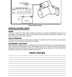 installation info msd 5096 dynaforce starter gm ls1 ls7 engines installation user manual page 3 4 [ 954 x 1235 Pixel ]