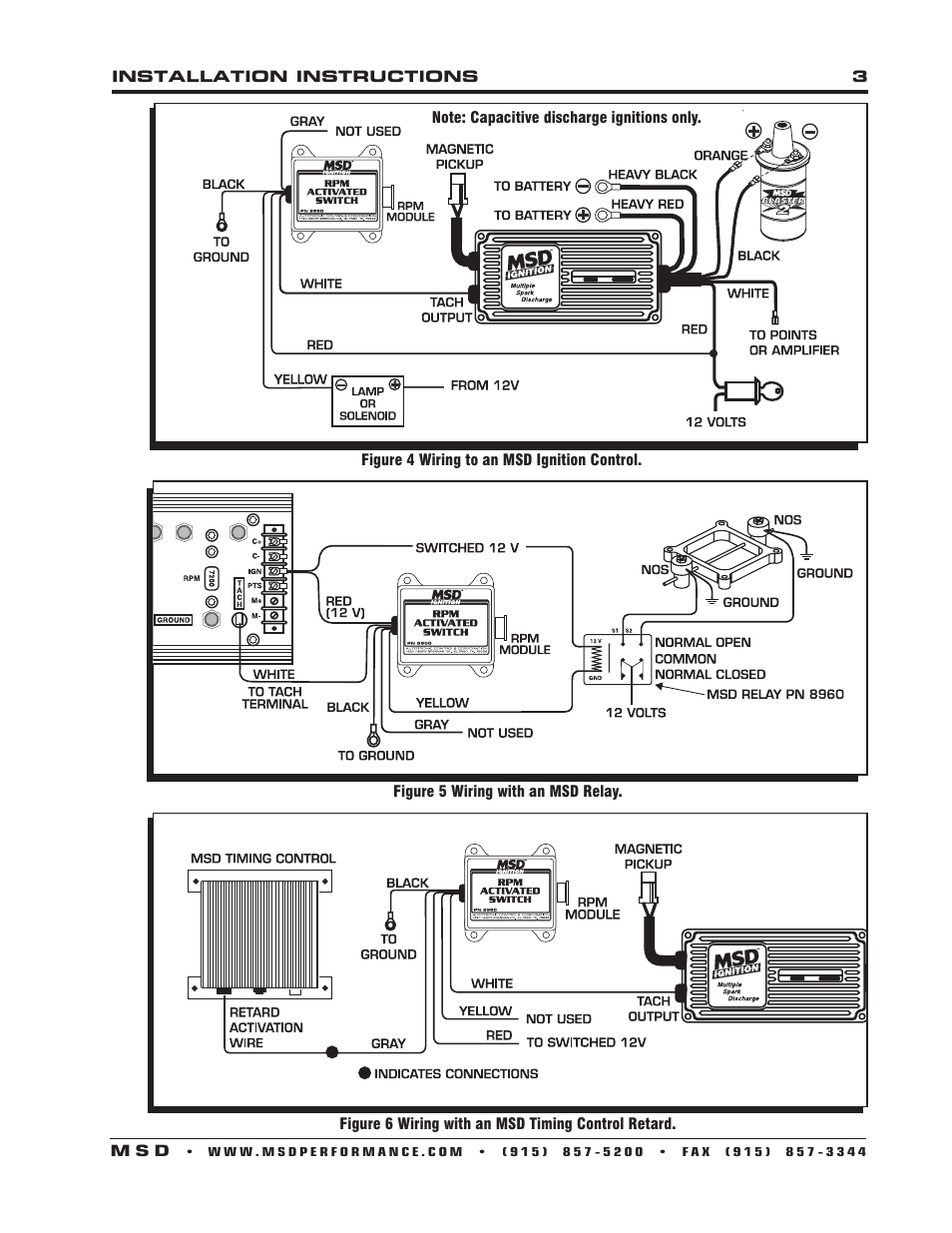 A Msd Wiring Diagram For Jeep L6 - Wiring Diagrams Hai To Wiring Gm Msd Dis Schematic on