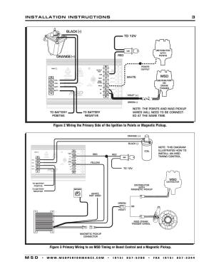 Installation instructions 3 m s d | MSD 7330 7AL3