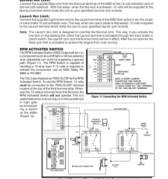 rpm activated switch msd 7330 7al 3 ignition control ford 460 distributor diagram msd 6al box [ 954 x 1235 Pixel ]