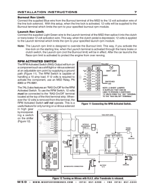 Rpm activated switch   MSD 7330 7AL3 Ignition Control Installation User Manual   Page 7  12