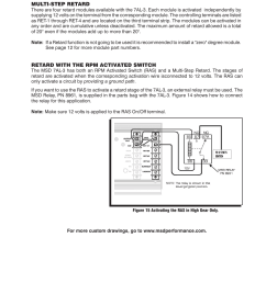 msd 7al3 wiring diagram wiring diagram todaysmsd 7330 7al 3 ignition control installation user manual page [ 954 x 1235 Pixel ]
