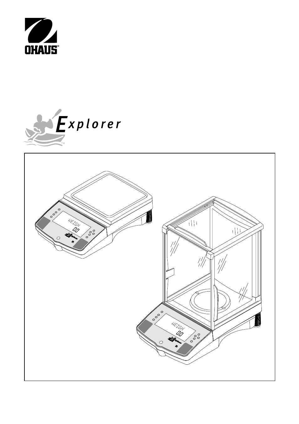 Explorer im 11780302b en, Balances, Instruction manual