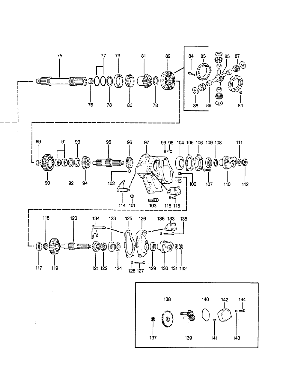 Spicer Drive System Illustrated Parts List ESD D386, D406