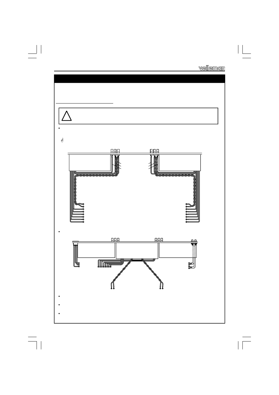 hight resolution of assembly and wiring connection of the transformers fig 9 0 fig 10 velleman projects k4040 assembly instructions user manual page 18 28