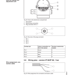 db9 connector wiring diagram vega vegaflex 81 4 20 ma hart two wire user manual page 30  [ 954 x 1354 Pixel ]