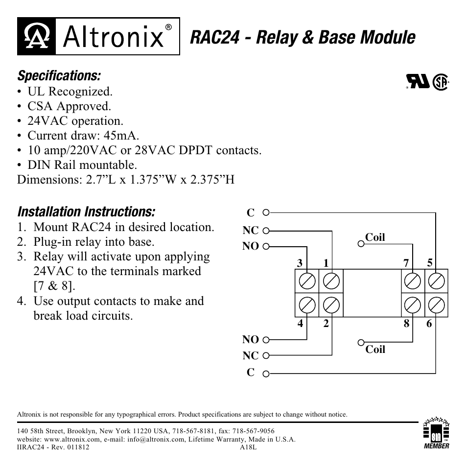 wiring diagram for altronix rb1224 wiring diagram for still modernaltronix relay  wiring diagram wiring library power