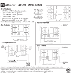 altronix relay wiring diagram wiring diagram technic altronix rb1224 installation instructions user manual 1 pagealtronix relay [ 954 x 954 Pixel ]