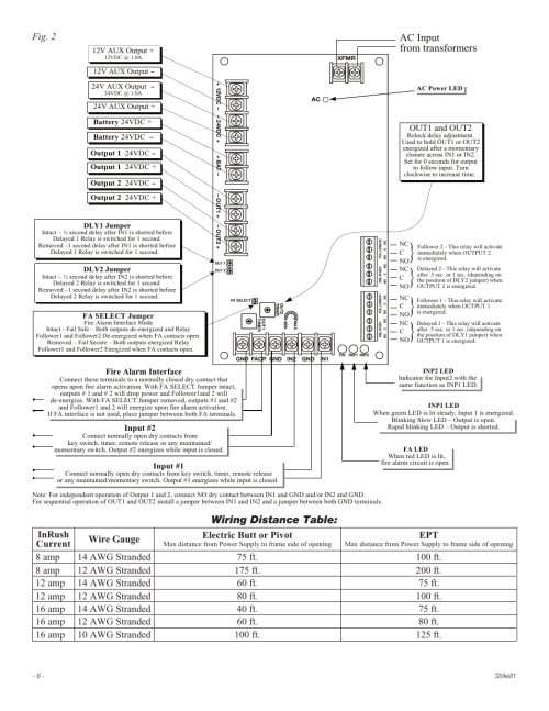 small resolution of  wiring distance table ac input from transformers fig 2 altronix on relay