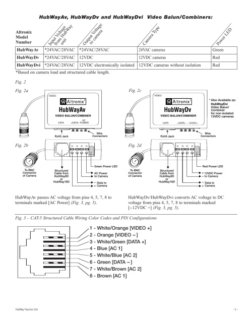 small resolution of  altronix hubway 8d installation instructions page5 altronix relay wiring diagram 2005 ford escape fuse panel diagram