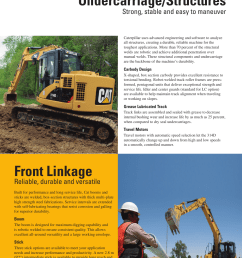 undercarriage structures front linkage strong stable and easy to maneuver milton cat 314d lcr user manual page 6 32 [ 954 x 1235 Pixel ]