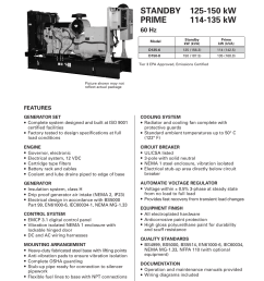 milton cat d125 6 125 kw spec sheet user manual 8 pages also for caterpillar d1256 wiring diagram [ 955 x 1272 Pixel ]