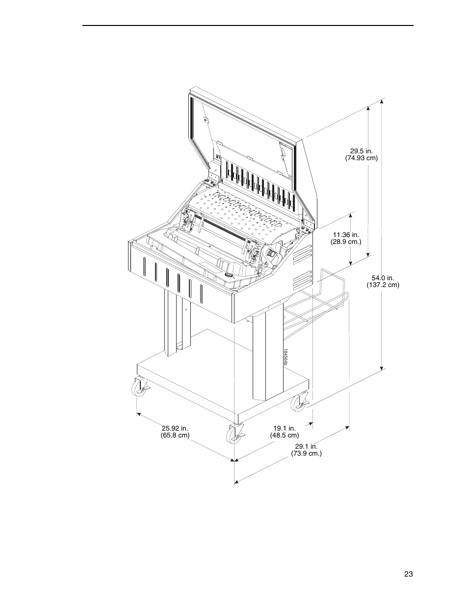 Printronix P8000 Series Cartridge Ribbon Printer User
