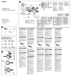 sony cdx gt630ui user manual 2 pages audiovox wiring tech sony cdx gt630ui wiring diagram [ 955 x 1016 Pixel ]
