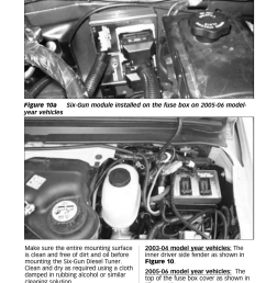 banks power ford trucks diesel 03 07 6 0l power stroke tuner six gun diesel tuner w optional speed loader module for use with six gun switch only  [ 954 x 1475 Pixel ]