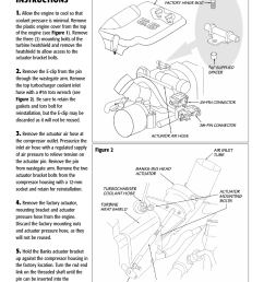 installation instructions banks power chevy gmc trucks duramax lb7 diesel 01 04 6 6l forced induction bighead wastegate actuator lb7 pickup user  [ 954 x 1235 Pixel ]