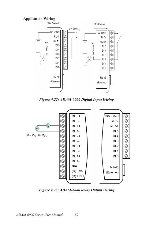 small resolution of figure 4 22 adam 6066 digital input wiring figure 4 23 adam 6066