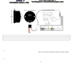 glowshift digital series pyrometer egt gauge user manual 3 pages also for exhaust gas temperature gauge [ 954 x 1235 Pixel ]
