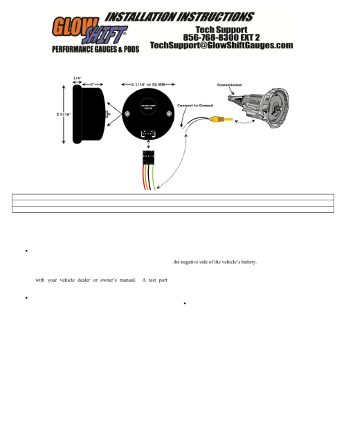 small resolution of glowshift wire diagram blog wiring diagram glowshift oil pressure gauge wire diagram glowshift wire diagram