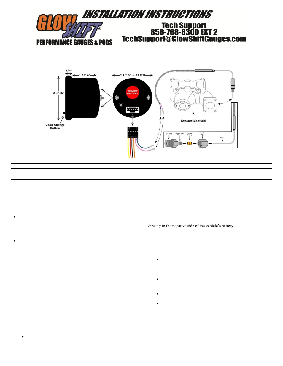 Pro P Auto Meter Tach Wiring Diagram On Equus Tach Wiring Diagram