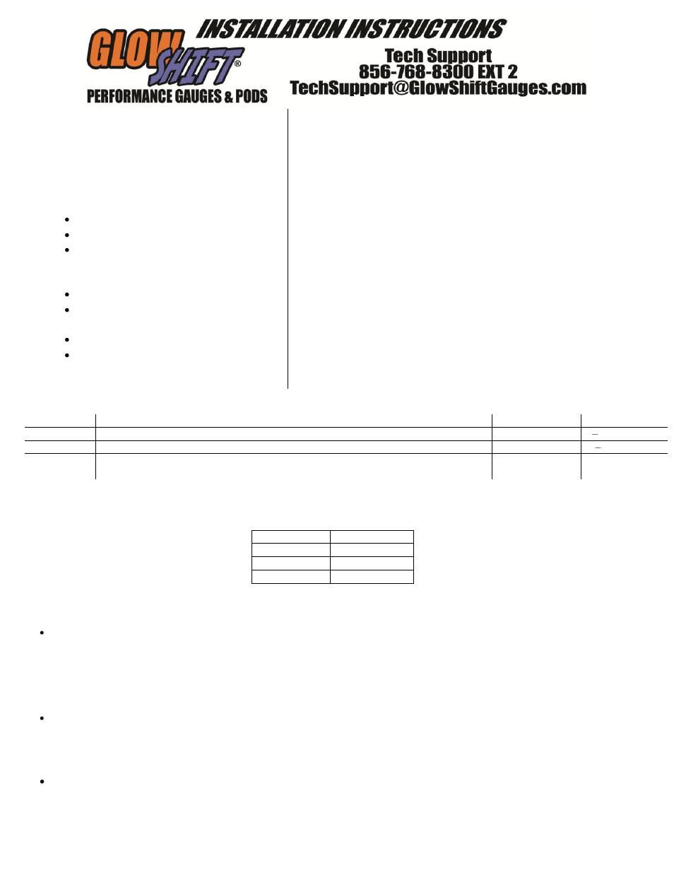 medium resolution of glowshift air fuel ratio gauge wiring diagram wiring diagram origin return spring diagram glowshift digital series