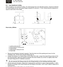 r m materials handling wire rope hoists service user manual page 107 130 [ 954 x 1235 Pixel ]