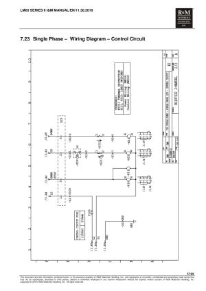23 single phase – wiring diagram – control circuit | R&M