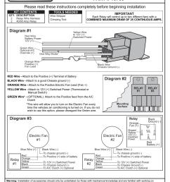 com derale 16765 electric fan dual relay wire harness automotive com derale 16765 electric fan dual relay wire harness automotive [ 954 x 1235 Pixel ]